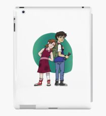 Mulder and Scully as Kiddos - Normal iPad Case/Skin