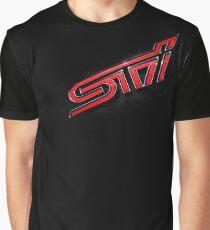 Subaru STI Grafik T-Shirt