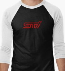Subaru STI Men's Baseball ¾ T-Shirt