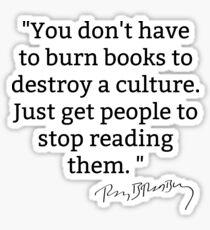 Reading Is Good Sticker