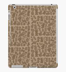 Viking Bunny Map Pattern iPad Case/Skin