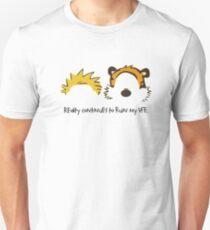 Calvin Hobbes cute T-Shirt