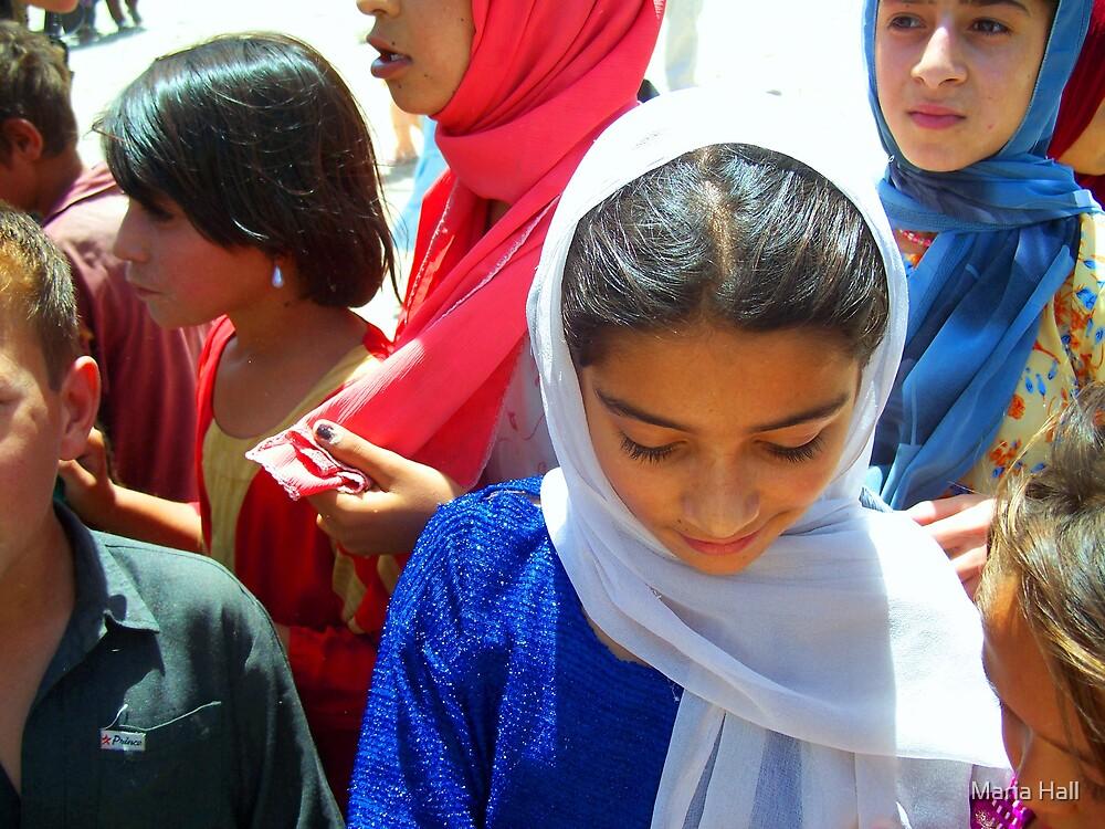 Afghan Girl by Maria Hall