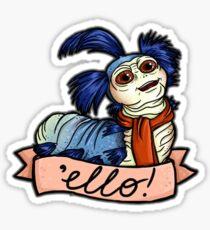 Ello - Labyrinth Worm Sticker