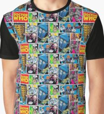 Doctor Who Comic Graphic T-Shirt