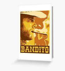 Bandito Greeting Card