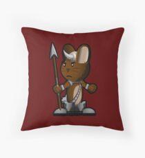 Lars The Viking Bunny Throw Pillow