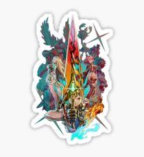 Pegatina Xenoblade Chronicles ™ 2 - Equipo