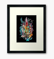 Xenoblade Chronicles™ 2 - Team Framed Print