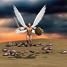 Archangel Michael Our Protector by m2inspiration