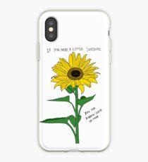 Vinilo o funda para iPhone Si necesitas un poco de sol