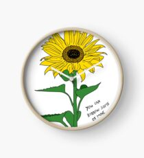 If You Need A Little Sunshine Clock