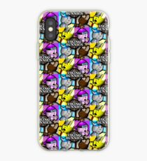 Viking Bunnies Pop Art iPhone Case