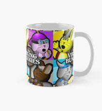 Viking Bunnies Pop Art Mug