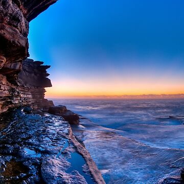 Morning glow from Shark Point	 by eschlogl