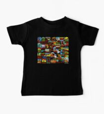 American National Parks Vintage Travel Decal Bomb Baby Tee
