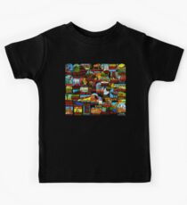 American National Parks Vintage Travel Decal Bomb Kids Clothes