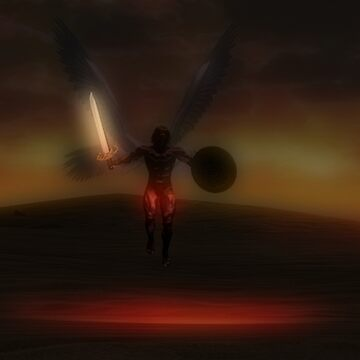 Archangel Michael Our Protector--Through the Darkness by m2inspiration