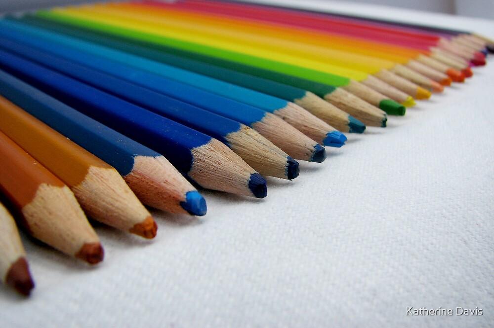 Coloured Pencils by Katherine Davis