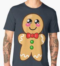 Cute Gingerbread Man  Men's Premium T-Shirt