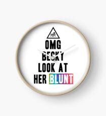 OMG Becky Clock