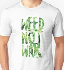 Weed Not War Slim Fit T-Shirt