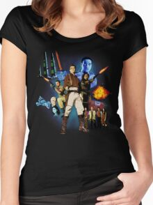 Serenity: The Alliance Strikes Back Women's Fitted Scoop T-Shirt