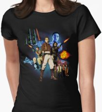 Serenity: The Alliance Strikes Back Women's Fitted T-Shirt