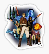 Serenity: The Alliance Strikes Back Sticker