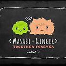Wasabi and Ginger Together Forever by Jenn Inashvili