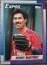 347 - Denny Martinez by Foob's Baseball Cards