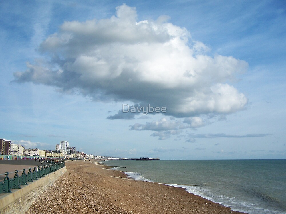 Cloud over Brighton by Davybee
