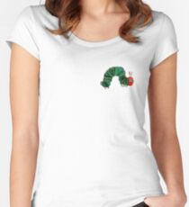 Hungry Hungry Caterpillar Women's Fitted Scoop T-Shirt