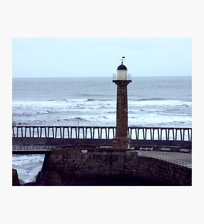 Harbour Light - Whitby Photographic Print