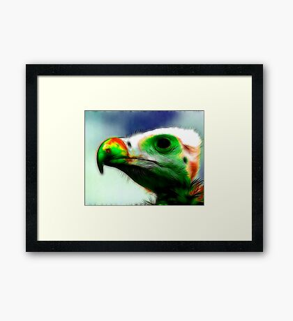 Green Giant Framed Print