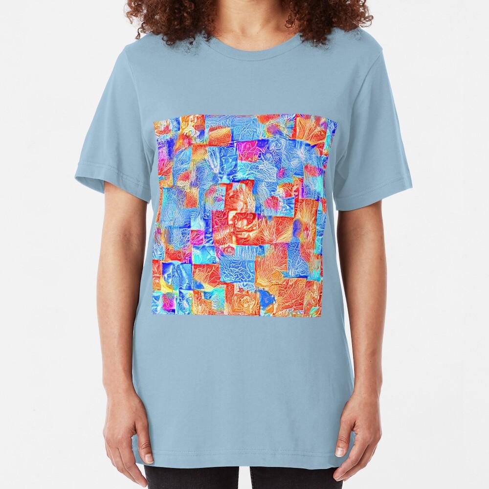 Light bright energy Slim Fit T-Shirt