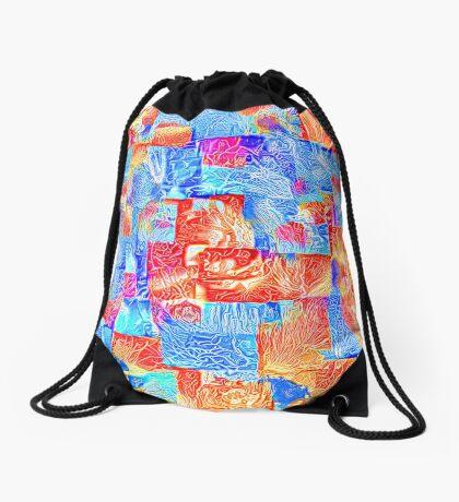 Light bright energy Drawstring Bag