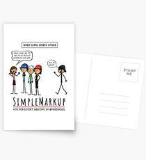 Word Squad Postcards