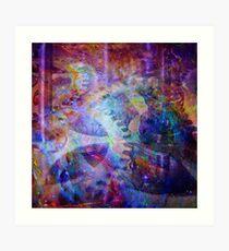 Clockwork Universe 4 Art Print