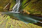Water falling in Cheran river by Patrick Morand