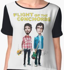 Flight Of The Conchords Women's Chiffon Top