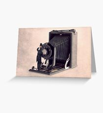 The lens cleaner Greeting Card
