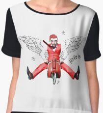 Lucifer Ho-ho-ho! Women's Chiffon Top