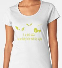 It Is Pith Black You Are Likely To Be Eaten By A Grue OU38 Trending Women's Premium T-Shirt