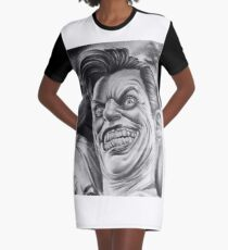 """""""Say my name"""" Graphic T-Shirt Dress"""