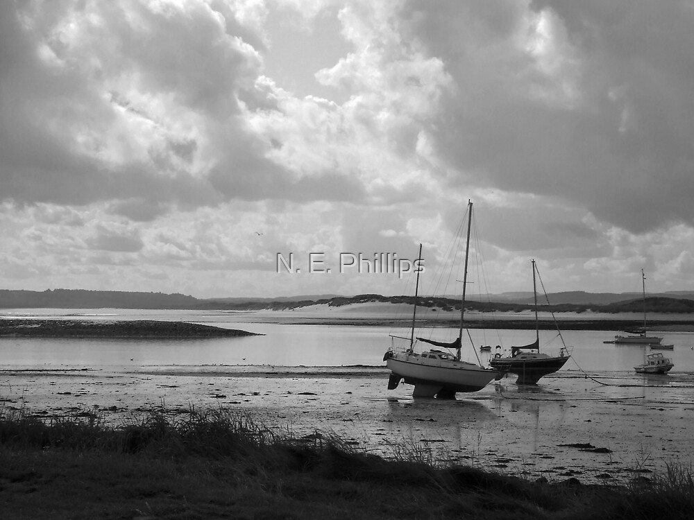Lindisfarne Harbour by N. E. Phillips