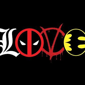 Comics Love by worn