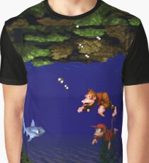 Donkey Kong Country - Coral Capers Graphic T-Shirt