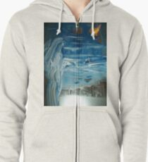 Woman On A Mission Zipped Hoodie