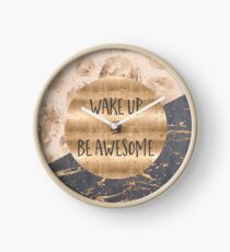 GRAPHIC ART Wake up and be awesome Uhr